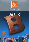 De Heer Milk Chocolate Letter Small  B 65g