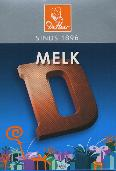 De Heer Milk Chocolate Letter Small  D 65g