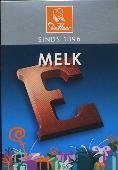 De Heer Milk Chocolate Letter Small  E 65g
