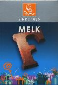 De Heer Milk Chocolate Letter Small  F 65g