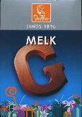 De Heer Milk Chocolate Letter Small  G 65g
