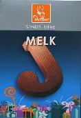 De Heer Milk Chocolate Letter Small  J 65g