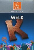 De Heer Milk Chocolate Letter Small  K 65g