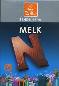De Heer Milk Chocolate Letter Small  N 65g