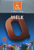 De Heer Milk Chocolate Letter Small  Q 65g