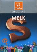 De Heer Milk Chocolate Letter Small  S 65g