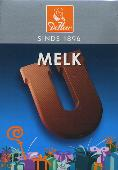 De Heer Milk Chocolate Letter Small  U 65g