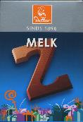 De Heer Milk Chocolate Letter Small  Z 65g
