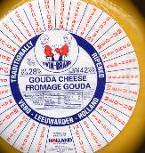 Gouda Cheese Medium priced per lb. -- Brands Vary
