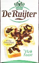 De Ruijter Vlokfeest / Milk & White Chocolate Flakes 300g
