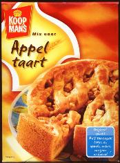 Koopmans Appel Taart mix 14.1oz. --Apple Tart--
