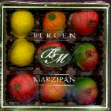 Bergen Marzipan Fruit Tray -- 4oz