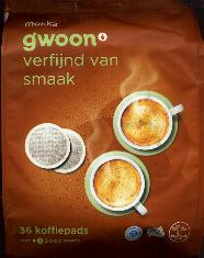 Gwoon Mocha Coffee Pods -- 36 Koffiepads -- 252g