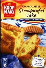 Koopmans Stroopwafel Cake Mix -- 400g -- With Caramel Pieces