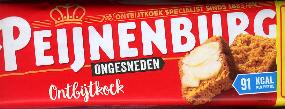 DATED: 23-01-18 Peijnenburg Ontbijtkoek --Breakfast Cake-- 550g