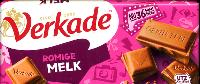 Verkade Melk Chocolade -- Creamy Milk Chocolate Bar --  111g