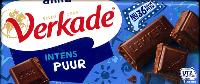 Verkade Puur Chocolade -- Dark Chocolate Bar -- 111g