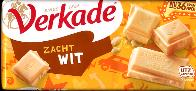 Verkade Zacht Wit -- White Chocolate Bar -- 111g