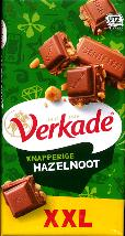 Verkade Knapperige Hazelnoot -- Crunchy Hazelnut Chocolate Bar -