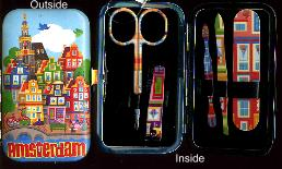 Manicure Set -- Amsterdam -- 4x2inches