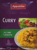 Appetita Curry Condimento 20g