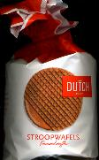 Aviateur Dutch Stroopwafels 10 count 46% carmel syrup 400g