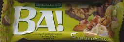 Bakalland BA! 40g Cereal Bar with Nuts and Chcocolate Icing