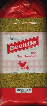 Bechtle Traditional German Thin Soup Noodles 500g