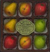 Bergen Marzipan Fruit Tray 4oz. USA