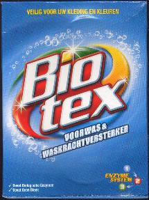 Biotex Voorwas & Waskrachtversterker -- Prewash & Washing Power