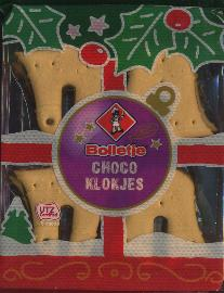 Bolletje Chocoklokjes--Chocolate Bell Cookies 150g