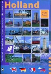 Holland Guide Book  -in English- French- German- Russian