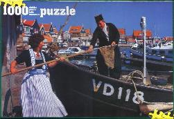 Puzzle 1000 Piece Volendam 19 X 27 inches in a box