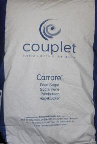 Belgian Pearl Sugar C40 by Carrare 25 Kilo bag -- 55 pounds