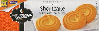 Continental Bakeries Shortcake Cookies 400g
