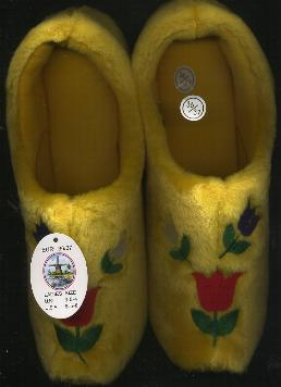 EU-36-37 Tulip Cloggy Slipper Woman-s size 6-7 Men-s size 5.5-6