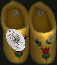 EU-20-21 Tulip Cloggy-- Tulip Slipper Child-s Size 5