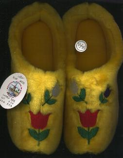 EU-34-35 Tulip Cloggy Tulip Slipper- Woman-s Size 3 - 3.5- Men-s