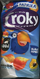 Croky Paprika Potato Chips 175g