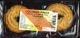 Dutch Bakery Coconut Rings 180g