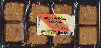 Dutch Bakery Zwitsers Swiss Almond Cookies 200g