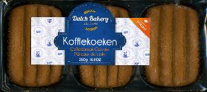 Dutch Bakery Koffiekoeken -- Coffee Break Cookies 250g