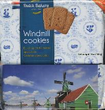 Dutch Bakery Windmill Speculaas Cookies 400g