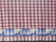 Tea Towel -- Red 60x65cm