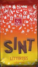 De Heer Sint Milk Chocolate Mini Letters 150g
