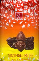 De Heer Sintfiguurtjes -- Milk and Dark Chocolate -- 150g