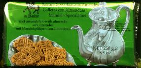 De Ruiter Speculaas -- Windmill Cookies with Almonds