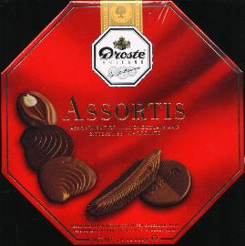 Droste Assortis Milk and Bittersweet Assortment Boxed 200g