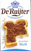 De Ruijter Hagelslag Melk - Milk Chocolate Sprinkles -DATED 9-17