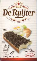 De Ruijter Hagelslag Puur - Dark Chocolate Sprinkles DATED 10-17